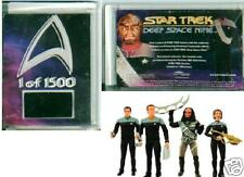 Star Trek DS9 series 2 fig RARE insert case card 1 of 1500 Limited Edition cards