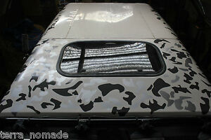 Camouflage Camo Decals Stickers Wrap Vinyl JDM Drift Modified 4x4 Car Roof Kit