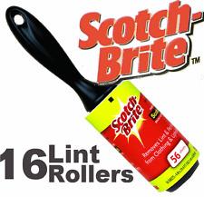 16 x peluches rouleaux Scotchbrite Cellotape collant rouleaux JUMBO taille nouveau fluff bits