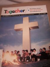 Vintage TOGETHER For Methodist Church Christian Families Magazine 1959 March