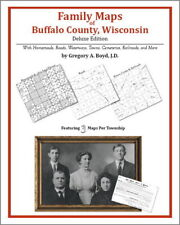 Family Maps Buffalo County Wisconsin Genealogy WI Plat