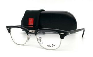 Ray Ban Clubmaster RX5154 2000 Shiny Black  49mm Eyeglasses