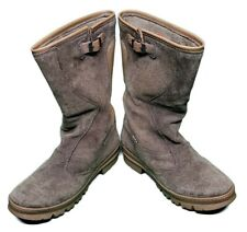 Keen Womens Shoes Brown Rain Boots Willamette Waterproof Suede Snow Size 9.5