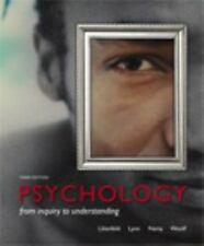 Psychology : From Inquiry to Understanding by Scott O. Lilienfeld, Nancy Woolf,