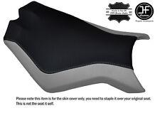 BLACK & GREY CUSTOM FITS KTM SUPERDUKE 990 R 07-14 FRONT SEAT COVER DESIGN 2