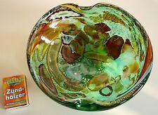 Murano AVEM Dino Martens Rest of the Day Tutti Frutti :  Schale, ca. 18x18x6,5cm