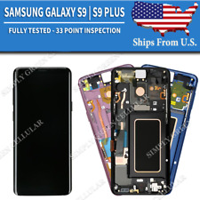 Samsung Galaxy S9   S9 Plus LCD Replacement Screen Digitizer OLED + Frame (B)