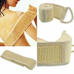 Exfoliating Loofah Loofa Back Strap Bath Shower Body Sponge Body Scrubber Brush