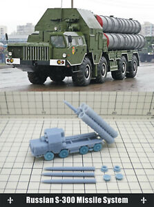 1/144 RESIN KITS Russian S-300 Missile System(3D)
