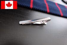 Fashion Tie Bar Clip - Silver