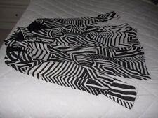 Long Sleeve Geometric Button Down Shirts for Women