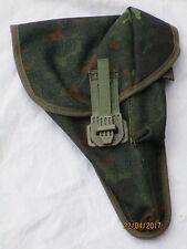 bw- Funda de pistola P1, CAMUFLAJE, BUNDESWEHR Funda, de Fecha 06/94 spekon