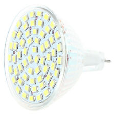 5x(G / GU / GX5,3 MR16 3528 SMD 60 LED LAMPADINA Spot Lampada 4W 12V luce bian D