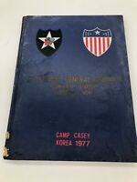 Army 2d Adjutant General Comp 2nd Infantry Div. Camp Casey, Korea 1977 Yearbook