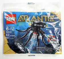30040 ATLANTIS OCTOPUS promo city town lego minifigure NEW poly bag legos set