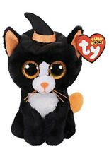 Ty Beanie Boos WITCHIE the Cat New with Tags