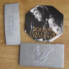 Johnny HALLYDAY     LORADA TOUR    Boitier métal ZIPPO      Double CD