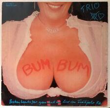 "Trio Boom Boom RARE Germany Import Maxi-Single Big Sexy Bosoms 12"" 45 Krautrock"