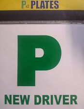 Simply New Driver P Plates Fully Magnetic (Pack of 2) (TL1100)