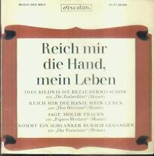 """7"""" Lisa Otto & Horst Wilhelm & Herbert Brauer/Reich Mir Die Hand Mein Leben"""