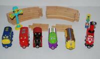 Chuggington Wooden Railway Trains Set Track Jackman Puffer Pete Koko Vee