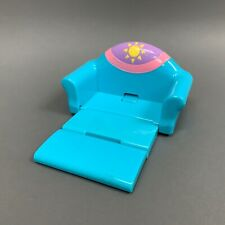 Mattel Dora The Explorer Pull Out Blue Sofa Bed Dollhouse Furniture 2003 Toy