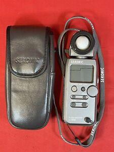 Sekonic Flash Master L-358 Camera Light Meter