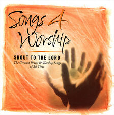 Songs 4 Worship- Shout To The Lord [2CD] 2001 Integrity Greatest Praise Worship