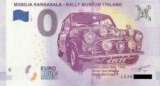 0 Euro Schein Finnland MOBILIA KANGASALA RALLY M. Souvenirschein Null € 2018 1