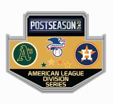 2020 AMERICAN LEAGUE DIVISION SERIES DUELING PIN OAKLAND A'S VS. HOUSTON ASTROS