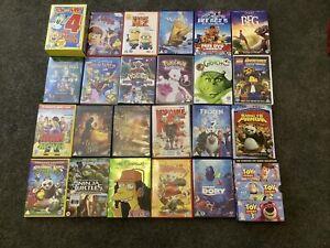 Childrens DVD Collection Box Set Disney Pixar Toy Story Lego Simpsons