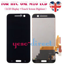 For HTC 10 One M10 5.2'' LCD Display Touch Screen Digitizer Replacement Black