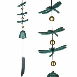 Woodstock Chimes - Woodstock Habitats - Dragonfly Windbell Cast Aluminum NEW