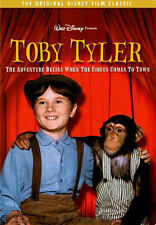 Disney Classic Heartfelt Comedy Drama Toby Tyler Circus Chimpanzee Movie on DVD