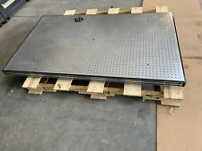 """Newport Optical Table 3' x 5'   3"""" Thick Bread Board, 1/4-20 holes in 1"""" Grid"""