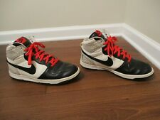 Used Worn Size 11.5 Nike Big NIKE High Shoes White Black Crimson