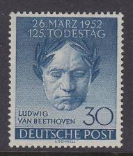 BERLIN : 1952 Death Anniversary of Beethoven  30pf SGB87 mint