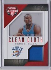 Serge Ibaka 2014-15 Panini Totally Certified Clear Cloth Jersey /299