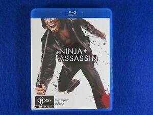 Ninja Assassin - Blu Ray - Free Postage !!
