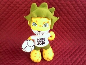 Football world cup 2010 mascot South Africa .