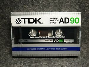 TDK AD90 : 1984 : MADE IN JAPAN : NEW & SEALED