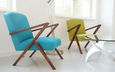 Mid Age Design Chair Sessel Bauhaus 50s Vintage Teak Retro Armchair Stilnovo 60s