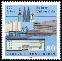 1370 postfrisch BRD Bund Deutschland Briefmarke Jahrgang 1988