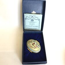 Halcyon Days Enamel Trinket Box Royal Legends Collection Charles II Boxed