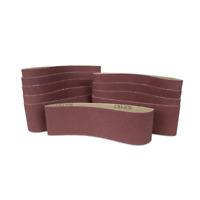 WEN Sanding Belt Sandpaper Sander Replacement Tool 80 Grit 3 x 18 Inch 10-Pack