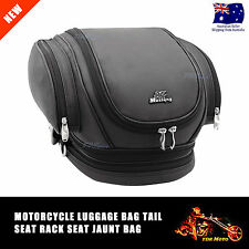 Motorcycle Motorbike Sissy Bar Luggage Backpack Bag HELMET Pillion Harly Style