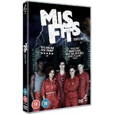 Misfits: E4 Series - Complete Season 1 Including DVD Exclusive 2 Disc Set NEW
