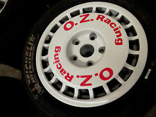 OZ-Racing wheels Rally racing Audi 80 90 100 200 quattro  typ89  B3 B4 C3 C4