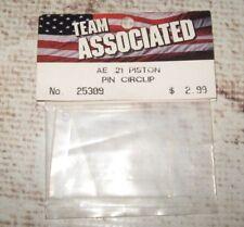 Vintage RC Associated .21 Nitro Engine Piston Pin Clip (1) 25309