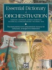 Essential Dictionary of Orchestration : Pocket Size Book by Tom Gerou and...